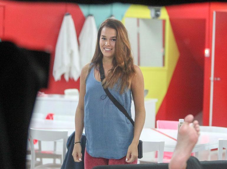 Sara Sieppi Big Brother -talossa vuonna 2013.
