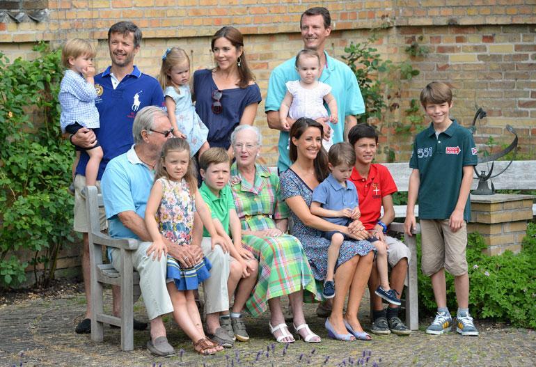 Tanskan kruununprinssi Frederik ja prinssi Joachim