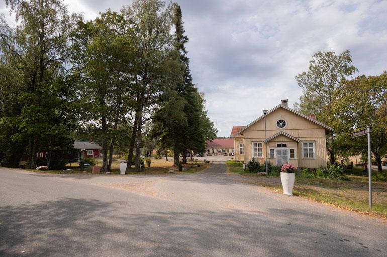 Pasin ja Mallan majatalossa on 26 sänkypaikkaa.
