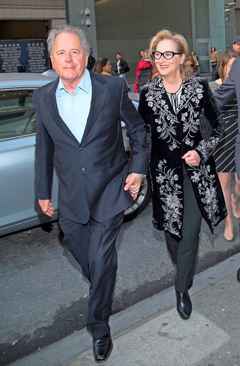 Meryl Streep ja Donald Gummer