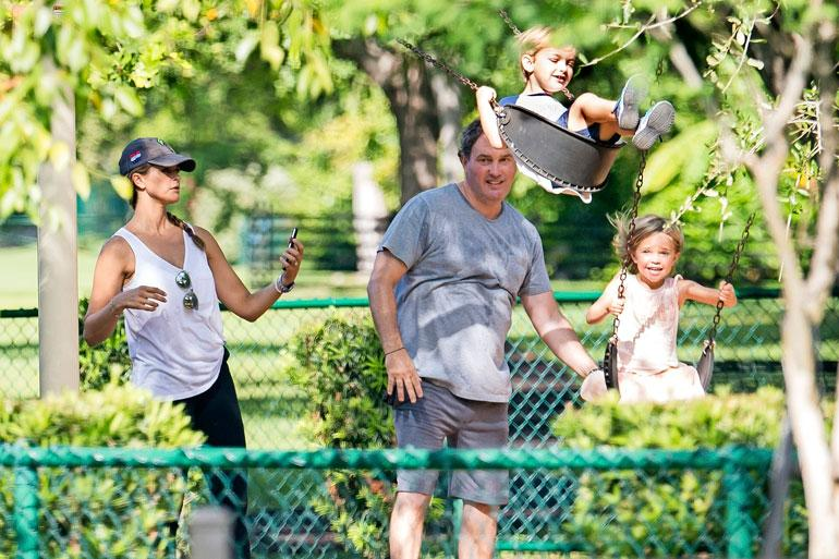 Ruotsin prinsessa Madeleine, Chris O'Neill, prinsessa Leonore ja prinssi Nicolas