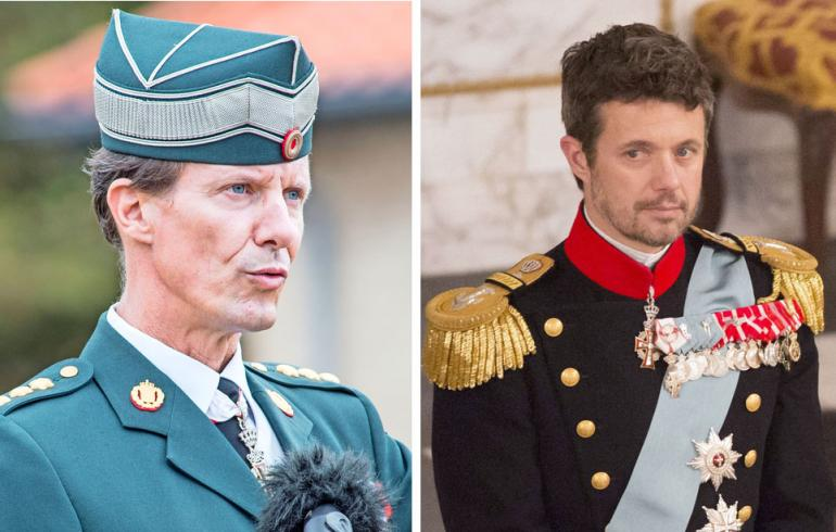 Tanskan prinssi Joachim ja kruununprinssi Frederik