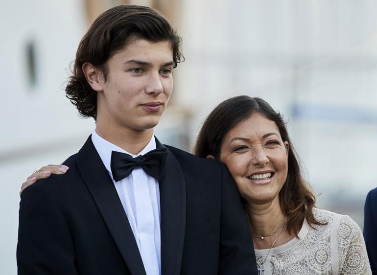 Tanskan prinssi Nikolai ja kreivitär Alexandra