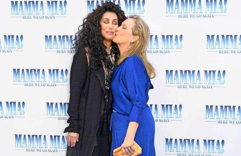 Cher ja Meryl Streep