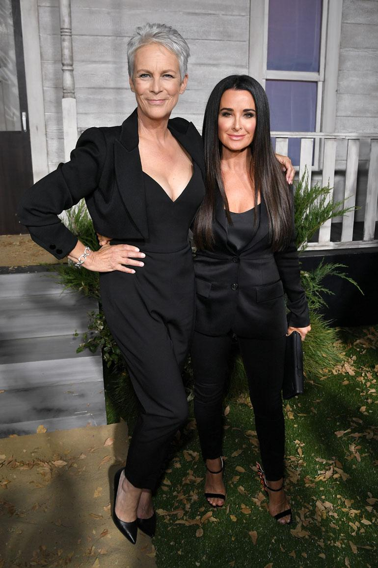 Jamie Lee Curtis ja Kyle Richards