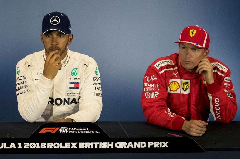 Lewis Hamilton on F1-sarjan viisinkertainen maailmanmestari. Kimi Räikkönen voitti mestaruuden vuonna 2007.
