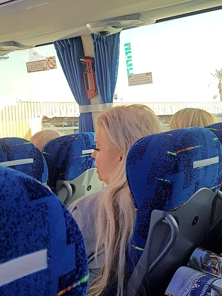 Johanna Tukiainen Israelissa.