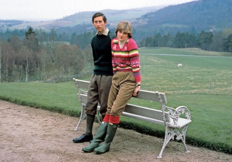 Walesin prinssi Charles ja prinsessa Diana