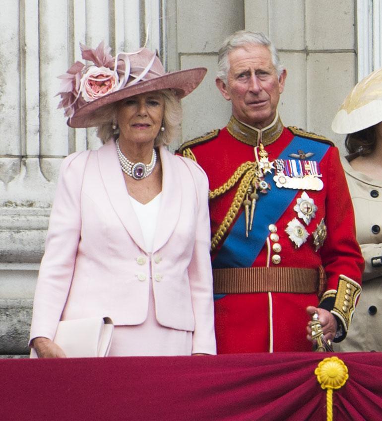 Prinssi Charles ja Cornwallin herttuatar Camilla
