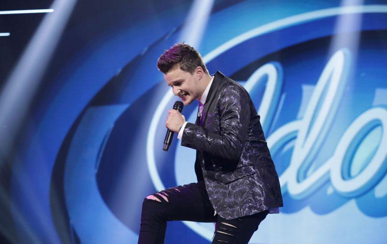 Patrikin esitys Idols-voiton ratkettua oli hämmästyttävän itsevarma ja vapautunut.