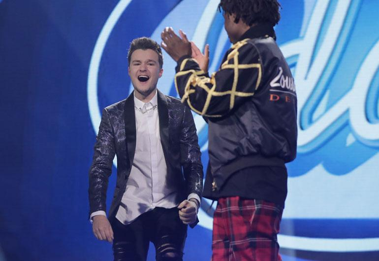 Patrik tuuletti villisti Idols-voittoaan.