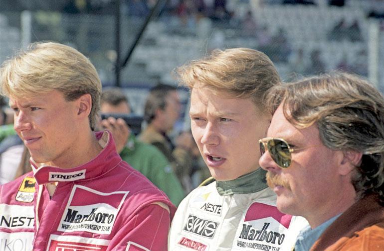 JJ Lehto ja Mika Häkkinen olivat Keken suojatteja.