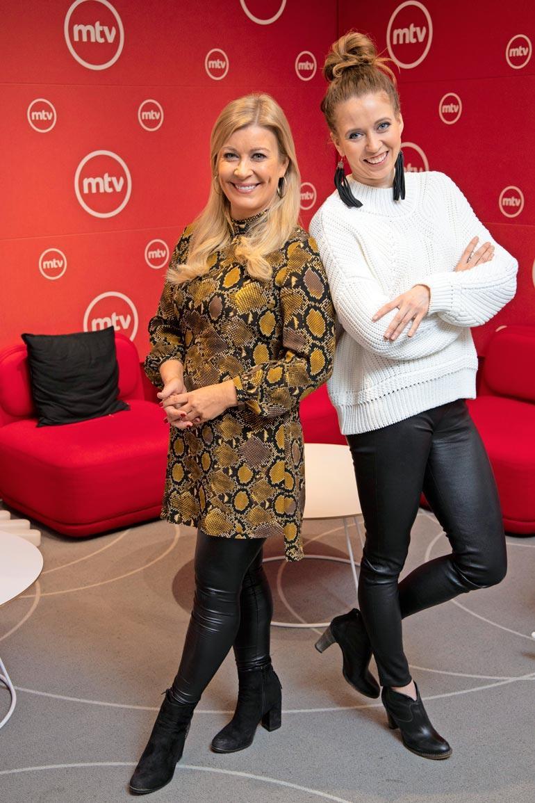 Kirsi Alm-Siira ja Nina Rahkola