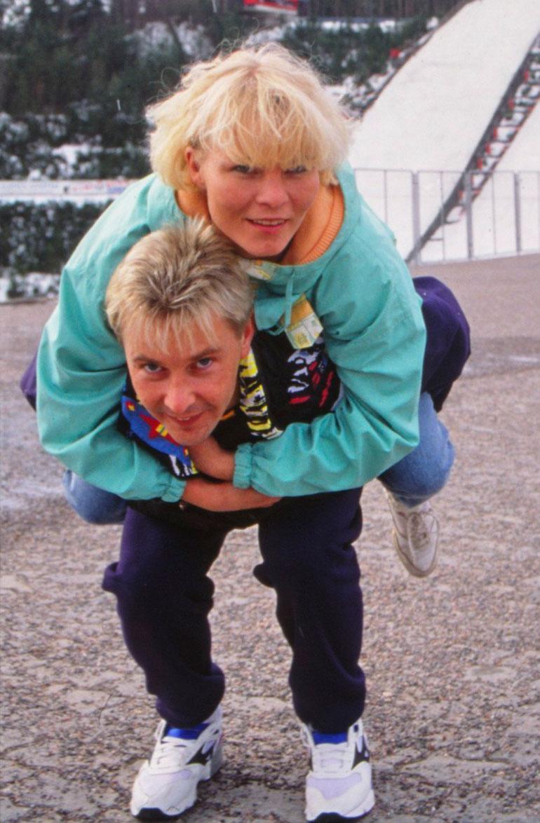 Keväällä 1993 Matin reppuselässä nähtiin rovaniemeläinen Sirpa. Tämä onni jäi todella lyhyeksi.