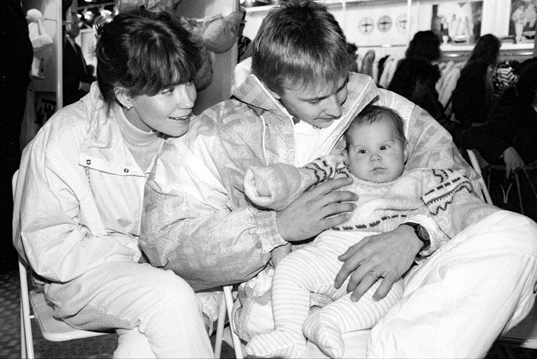 Tiina Hassinen ja Matti saivat Sami-pojan vuonna 1987.