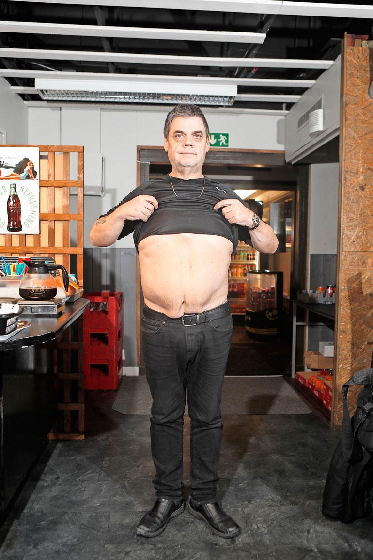 – Vatsan leikannut kirurgi sanoi, että jos olisin ottanut tämän elämäntapamuutoksen tosissani ilman leikkausta, olisin täysin samassa pisteessä ja matkalla lihavammaksi, Tero toteaa.