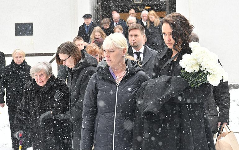 Matti Nykäsen surusaatto 2.3.2019 Jyväskylässä.
