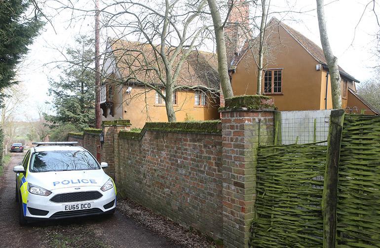Flintin talo Essexissä.
