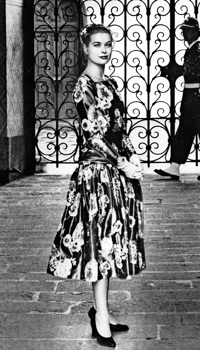 Grace Kelly vuonna 1956.
