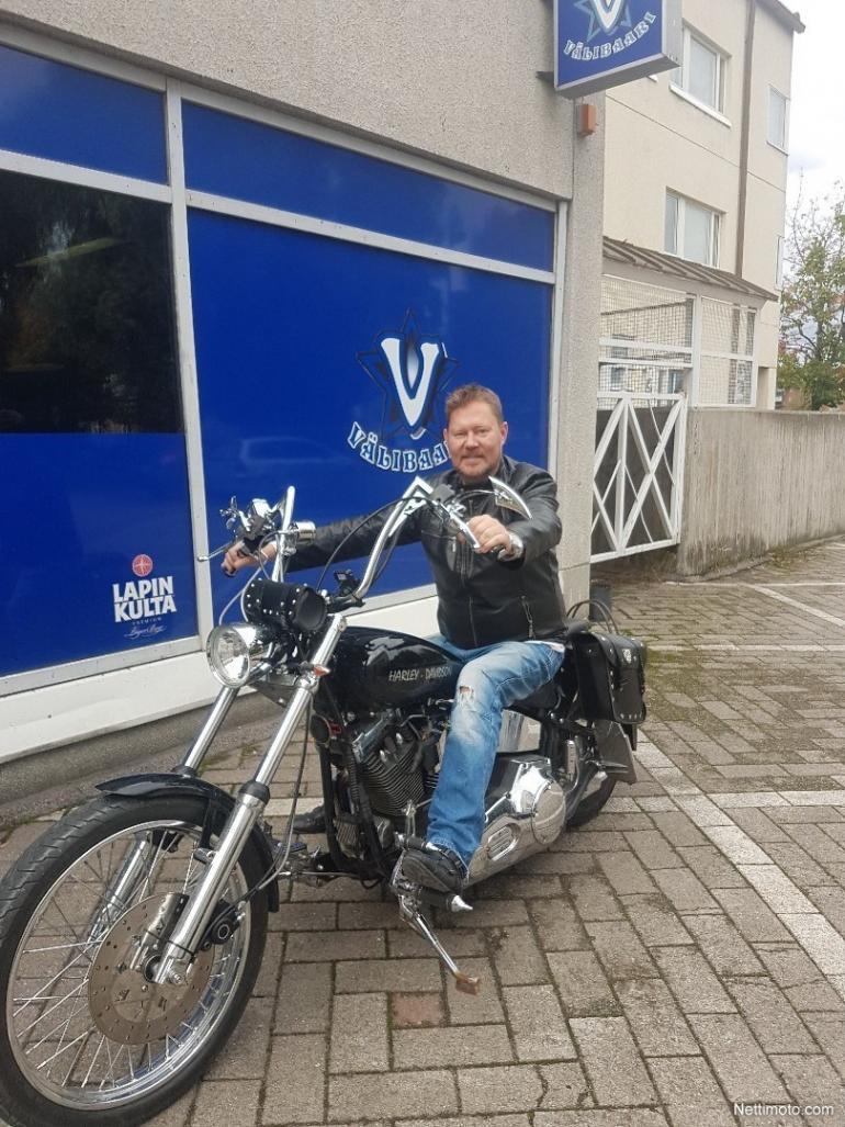 Pertti Salovaaran Harley-Davidson on myynnissä.