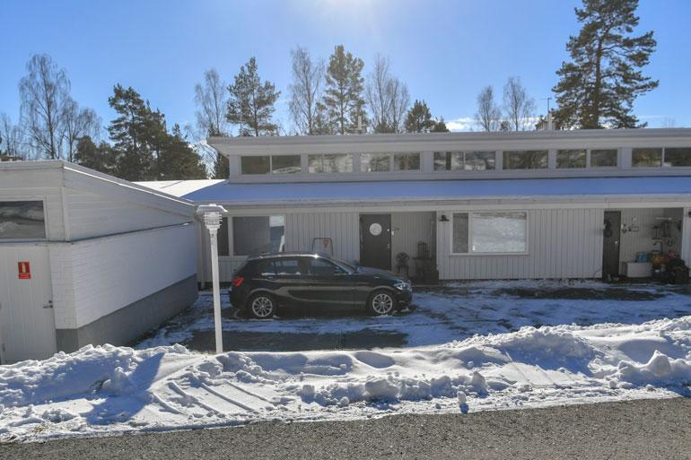 Christoffer Strandbergin talo.