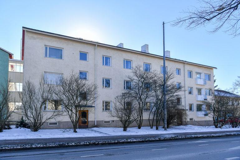 Mikko Virtasen kotitalo.