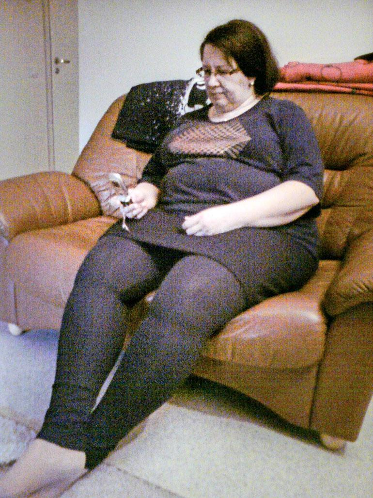 Pahimmillaan Marita painoi 135 kiloa.