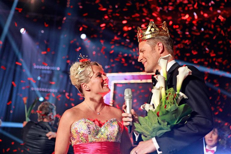 Heidi Pakarinen kruunatiin tangokuningattareksi vuonna 2013.