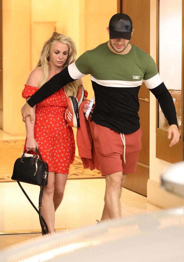 Britney Spears ja Sam Asghari