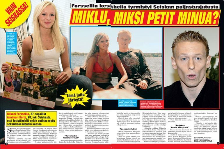 Annimari Korte ja Mikael Forssell