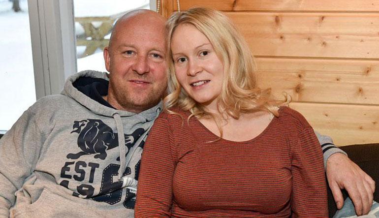 Stefan Therman ja Riikka ehtivät olla yhdessä nelisen vuotta.