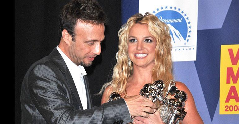 Larry ja Britney Spears vuonna 2008