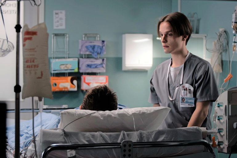 Valtteri Lehtinen näytteli Uusi päivä -sarjassa vuosina 2010–2018. – Viimeisellä tuotantokaudella olin mukana ainoastaan päätösjaksossa. Kuvasimme sen samoihin aikoihin, kun aloitin Syke-sarjassa.