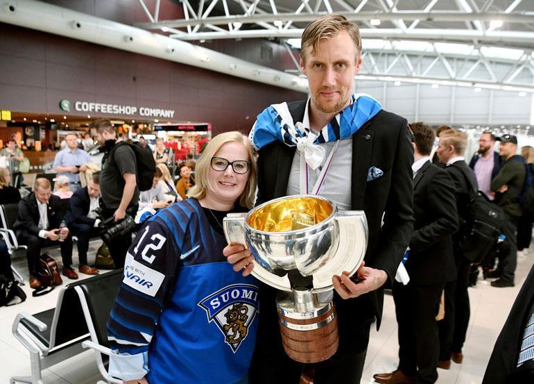 Marko Anttila ja Heidi.