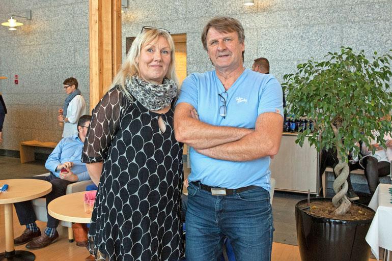 Tiina ja Kalle Anttila hoitivat Heidin vanhempien kanssa Markon ja Heidin 2-vuotiasta tytärtä. – Pärjäsimme pienokaisen kanssa hyvin, vaikka hänellä olikin äitiä ja isiä ikävä.