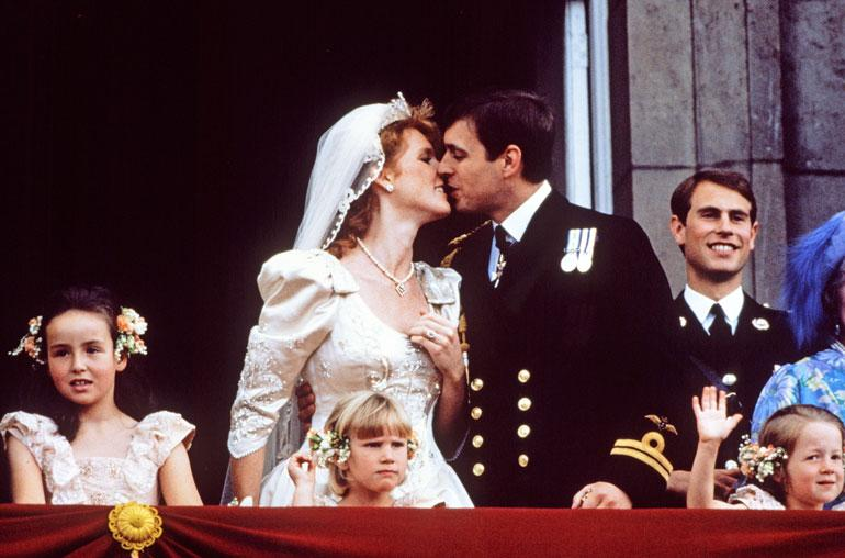 Fergie ja Andrew vihittiin 1986, ja liitto päättyi virallisesti 1996 neljän asumuserovuoden jälkeen.