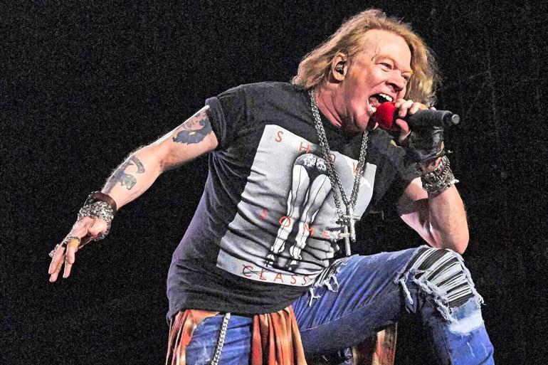 Guns N' Roses -laulaja Axl Rose on tunnetusti vaikea henkilö. Chinese Democracy julkaistiin viimein 2008. – Hyvä Jumala! Voit arvata minkälaista hänen kanssaan oli työskennellä, Youth huokaa.