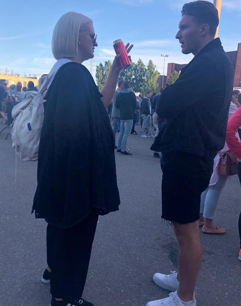 Köpi Kallio ja Jenni Poikelus