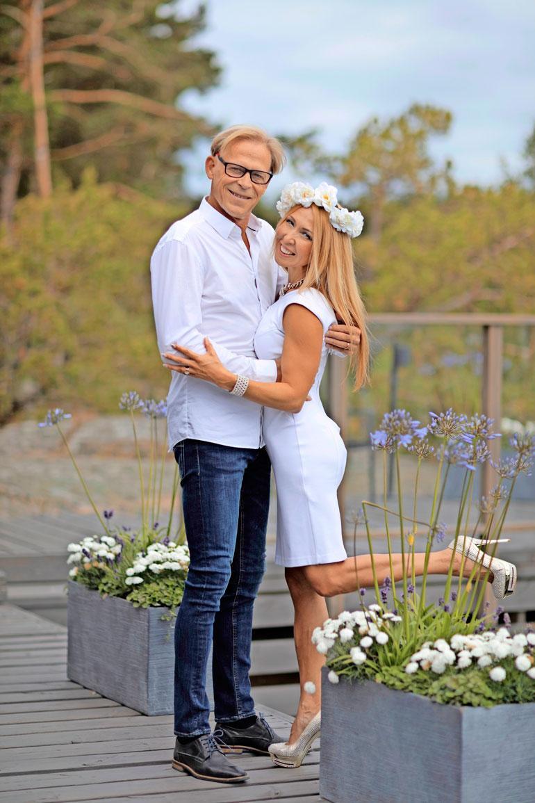 Topi ja kazakstanilaissyntyinen Nadja tutustuivat keväällä 2016.