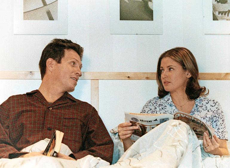 Tarjan näyttelemällä Hannalla oli sarjassa suhde sekä isän (Jouko Keskinen) että pojan kanssa.