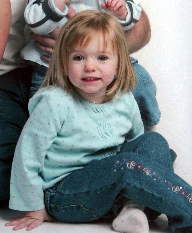 Kuvassa kolmivuotias Maddy olisi nyt jo 16-vuotias.