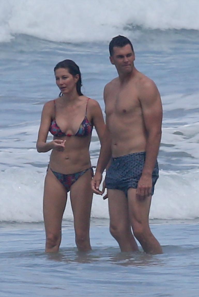 Gisele Bündchen ja Tom Brady