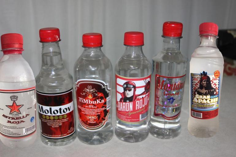 Costa Rica bootleg booze
