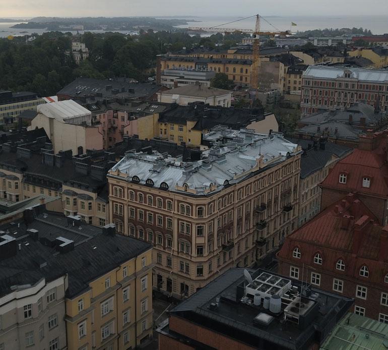 Malisen koti sijaitsee Helsingin arvostetuimpiin kuuluvassa taloyhtiössä, jonka neliöhinnat liikkuvat pilvissä.