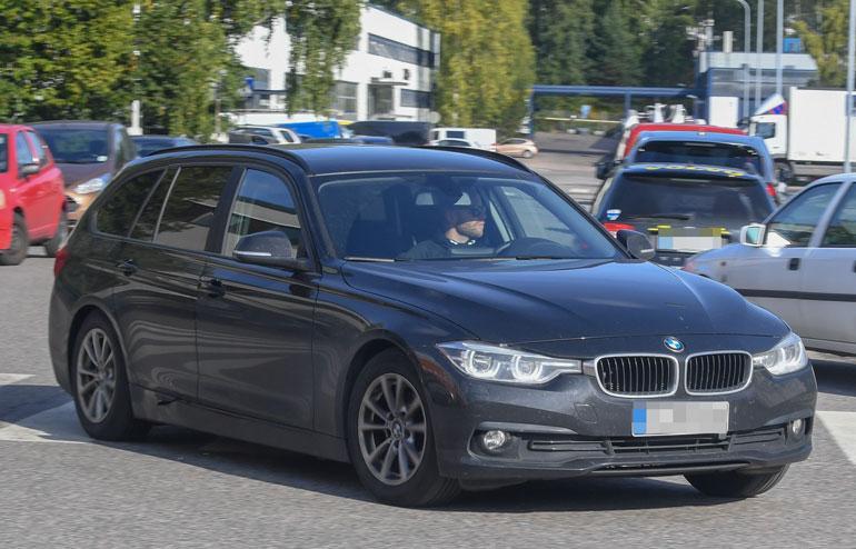 Mika Poutalan auto.