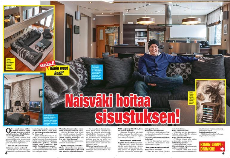 Kimi Räikkösen kotiesittely.