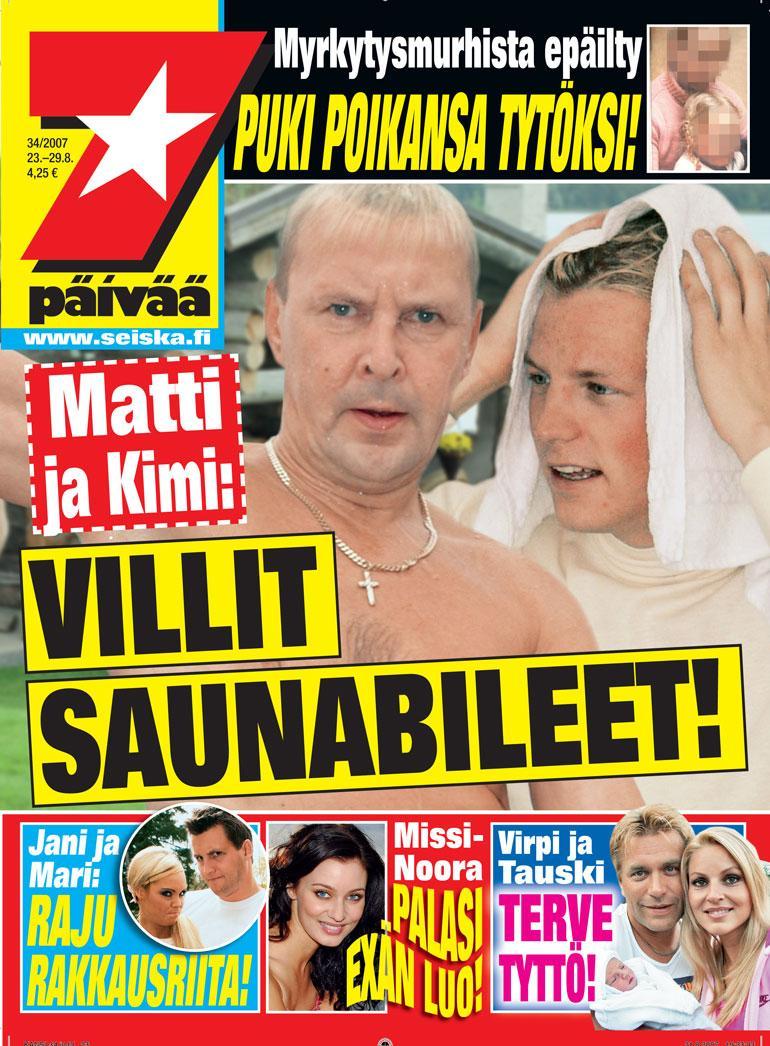 Kimi Räikkönen ja Matti Nykänen