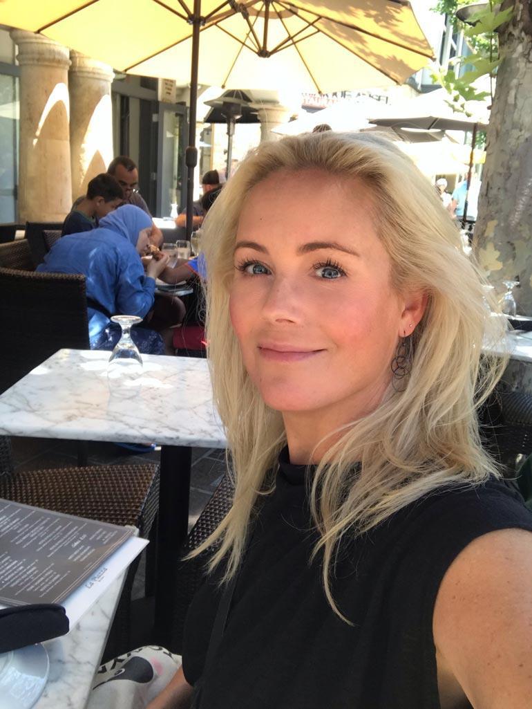 Vaasan veri ei vapise, edes Kaliforniassa. – Piipahdin Losissa viimeksi elokuussa. Aurinko teki hyvää! Anne iloitsee.