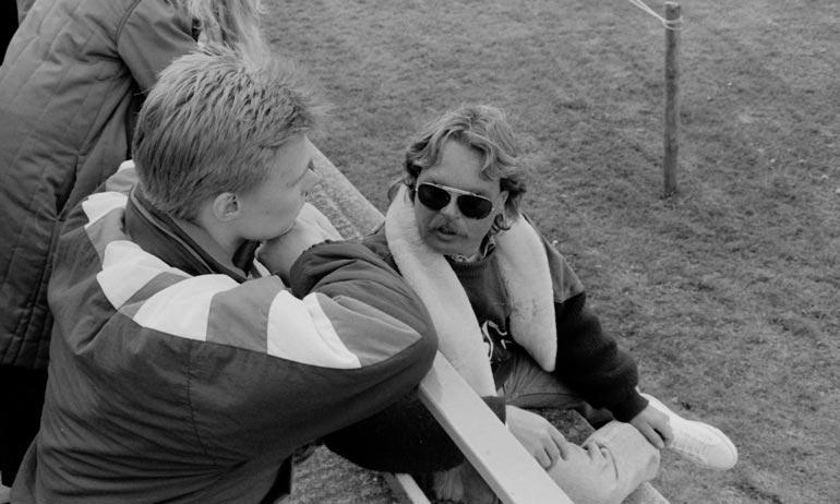 Maailmanmestari ja manageri Keke Rosberg oli keskeisessä roolissa Mika Häkkisen ja Jyrki Järvilehdon uralla. Saloa hän ei kuitenkaan halunnut auttaa.