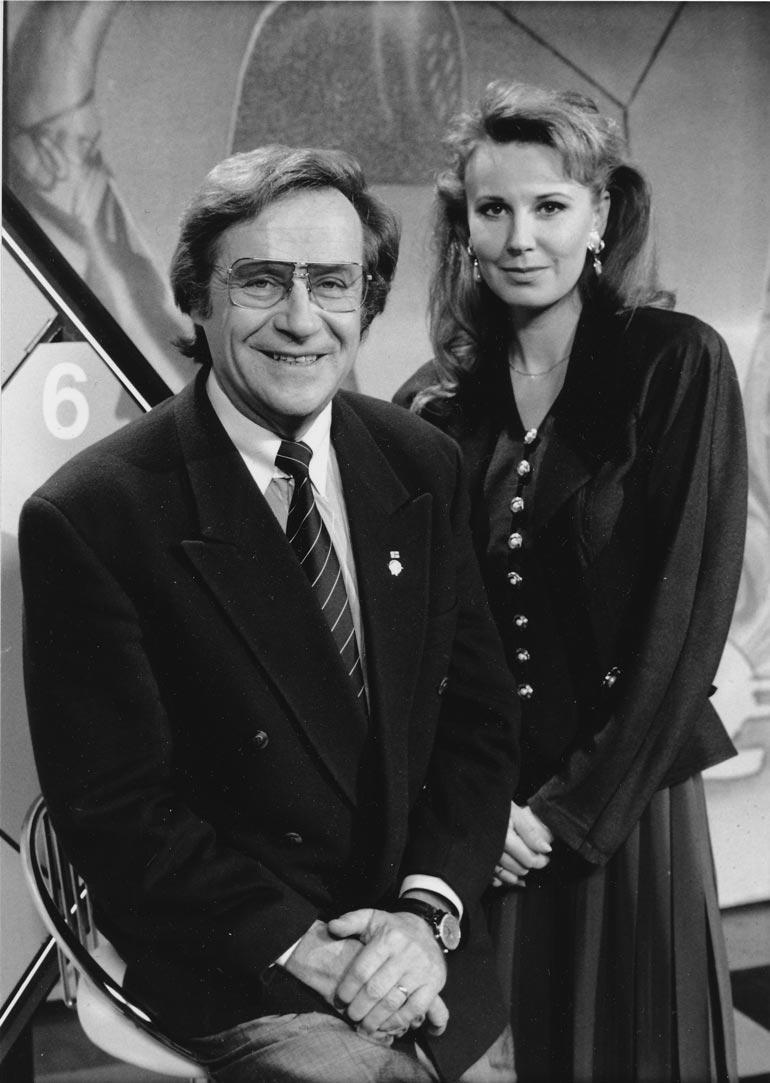 Ruutuysiä Jorma juonsi ex-missi Sirpa Viljamaan kanssa 1980-1990-luvuilla. Nykyisin Sirpa asuu Itävallassa. – Sirpasta jäi kertakaikkisen hyvät muistot, Jorma sanoo.
